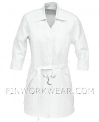 Медицинский халат короткий женский